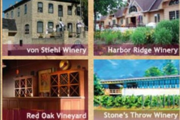 There are a dozen wineries in Door County and we are 1 minute from Lautenbach's. And close to Harbor Ridge and Stone's Throw.