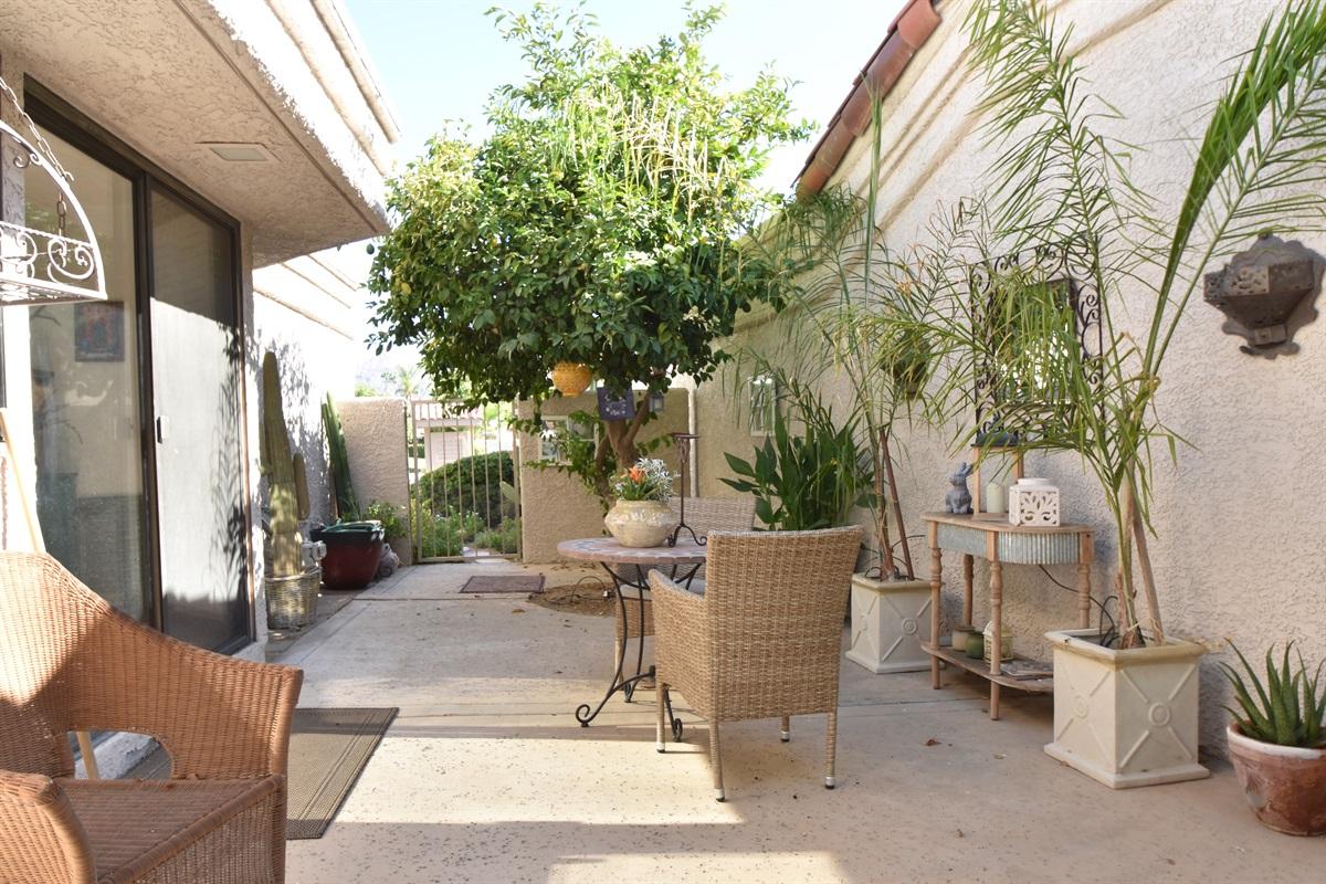 side patio