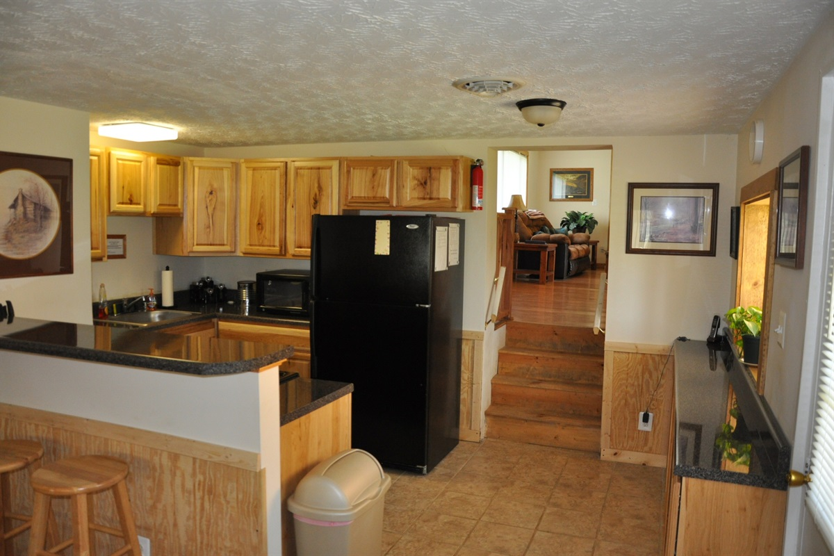 Kitchen with New Appliances and Cabinets