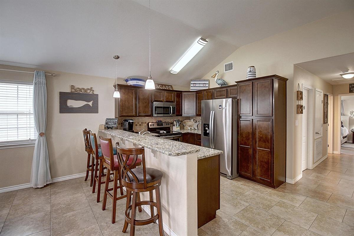 Kitchen:  Electric appliances