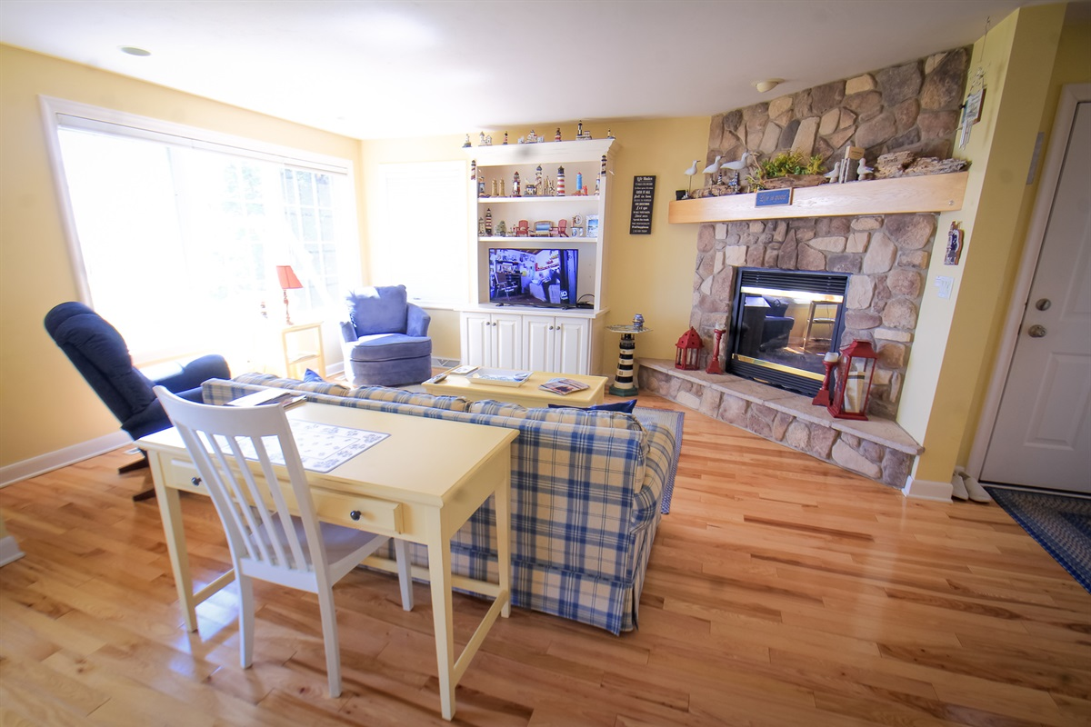 View from Kitchen into Living Area