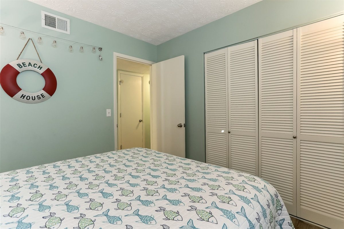 Closet Space in Guest Room 1