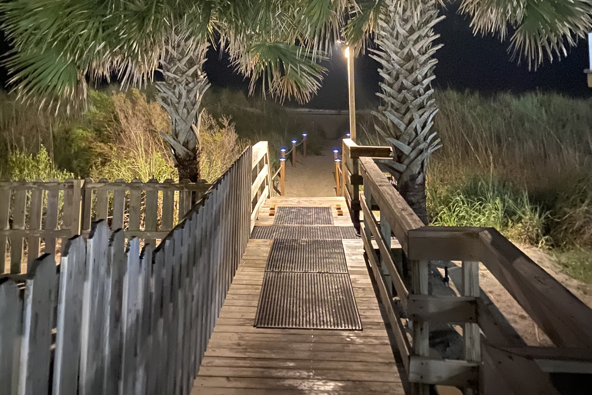 Walk way to the beach