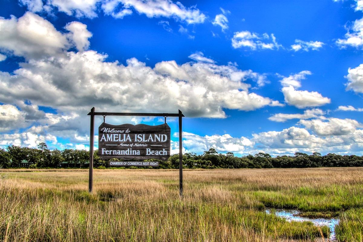 Welcome to Amelia Island, Fernandina