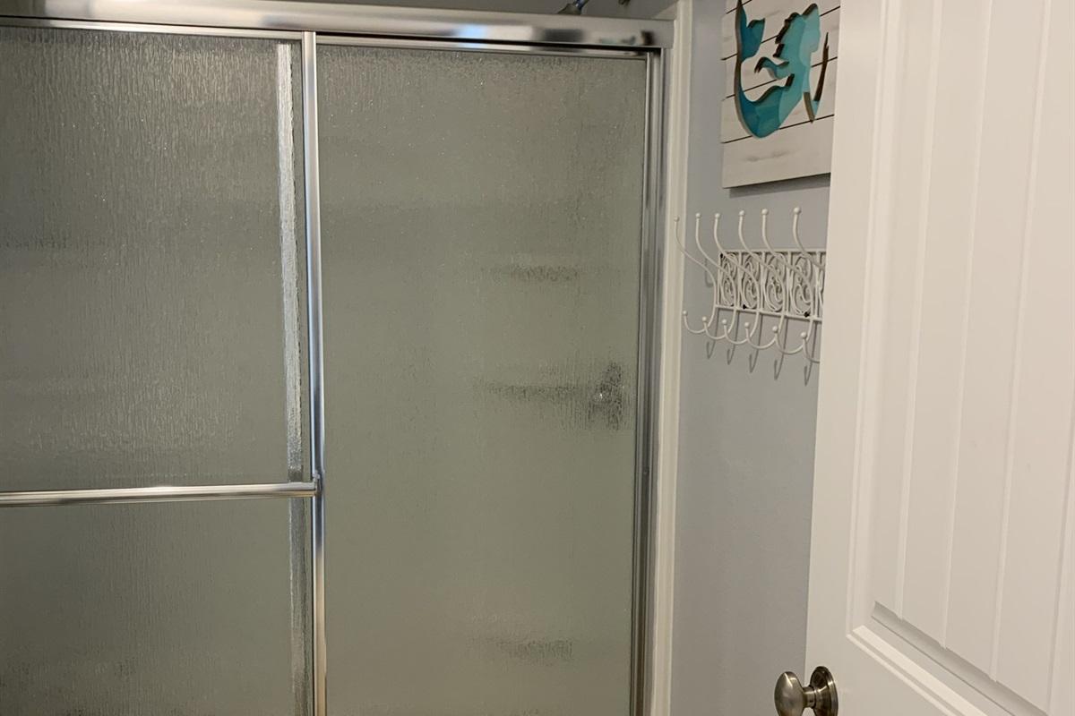 Bathroom:  Walk-In Shower