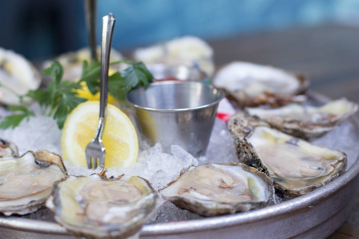 Savor Local Seafood at Many Nearby Dining Options