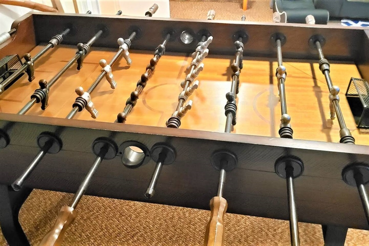 New heavy duty foosball table