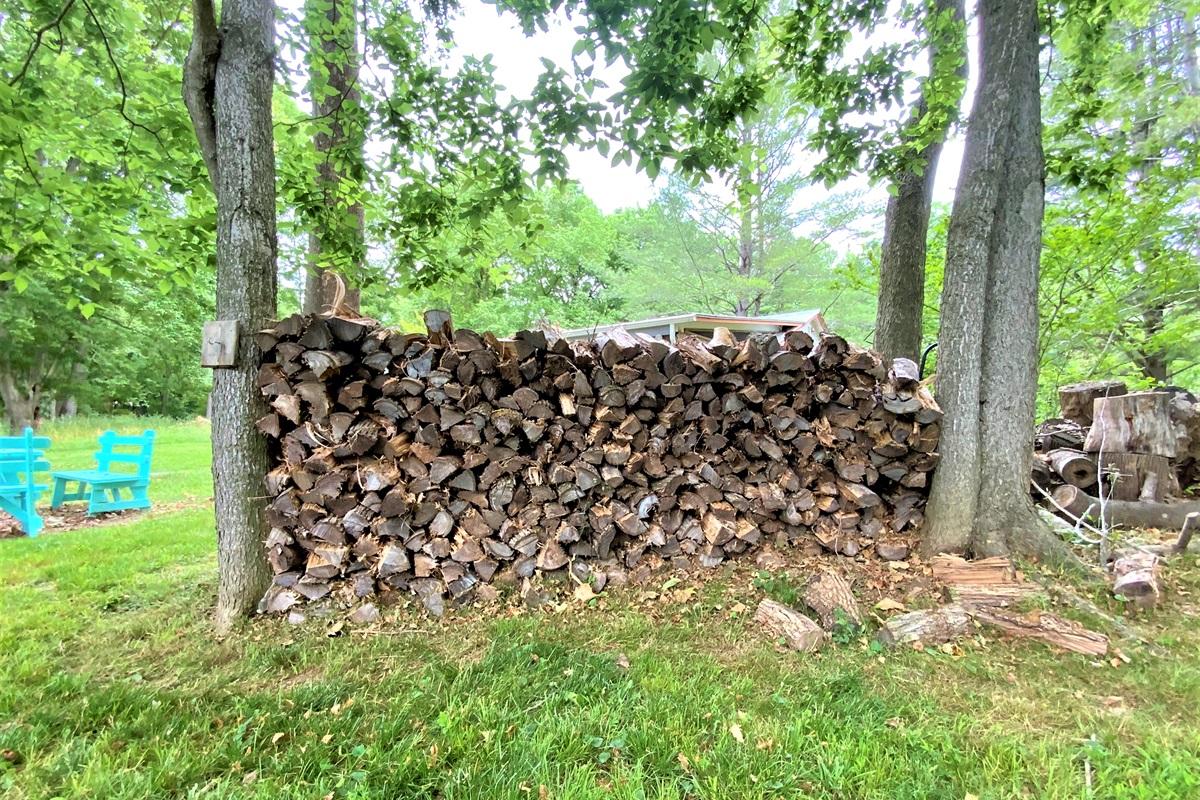 Plenty of firewood- just $10/night