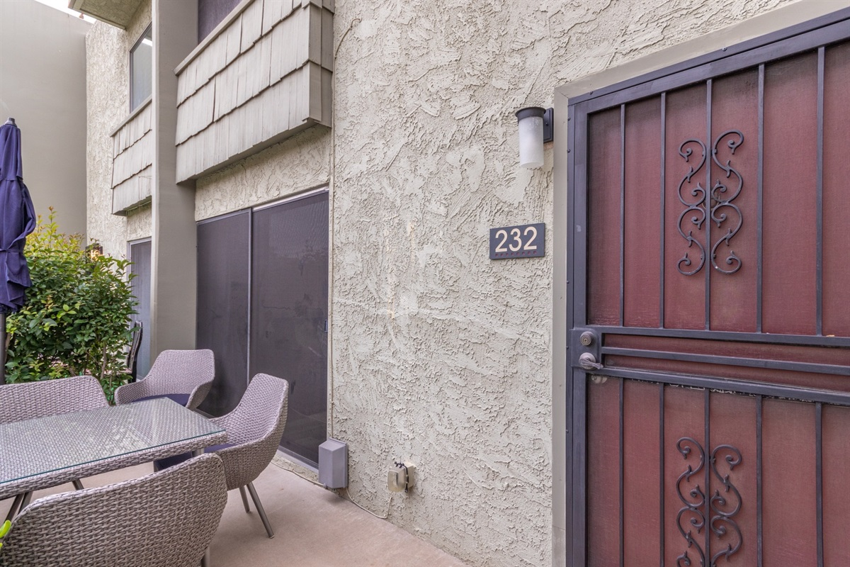 back door/patio