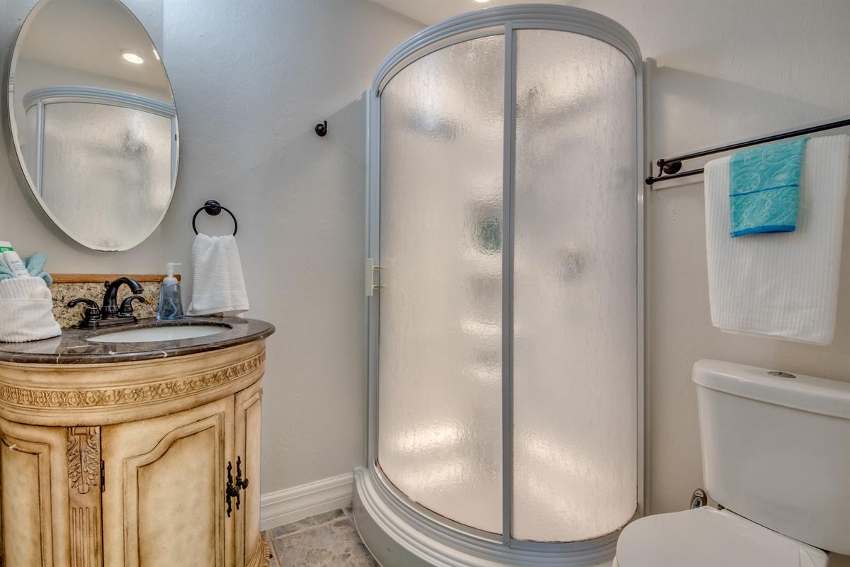 Third bath and Shower