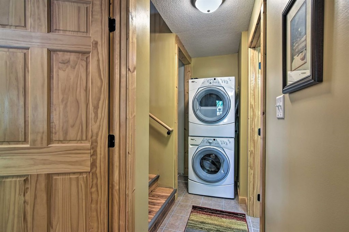 The in-unit laundry machines are provided for your convenience.