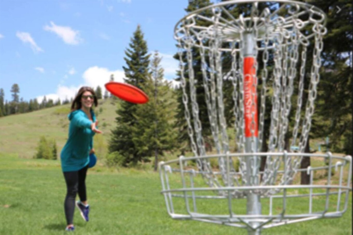 Disc Golf for free at Jacksonport Disc Golf. We do include some discs and other outdoor games!