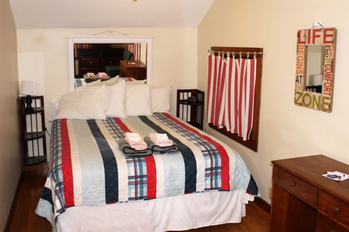 Bedroom #3 - Main level with queen bed