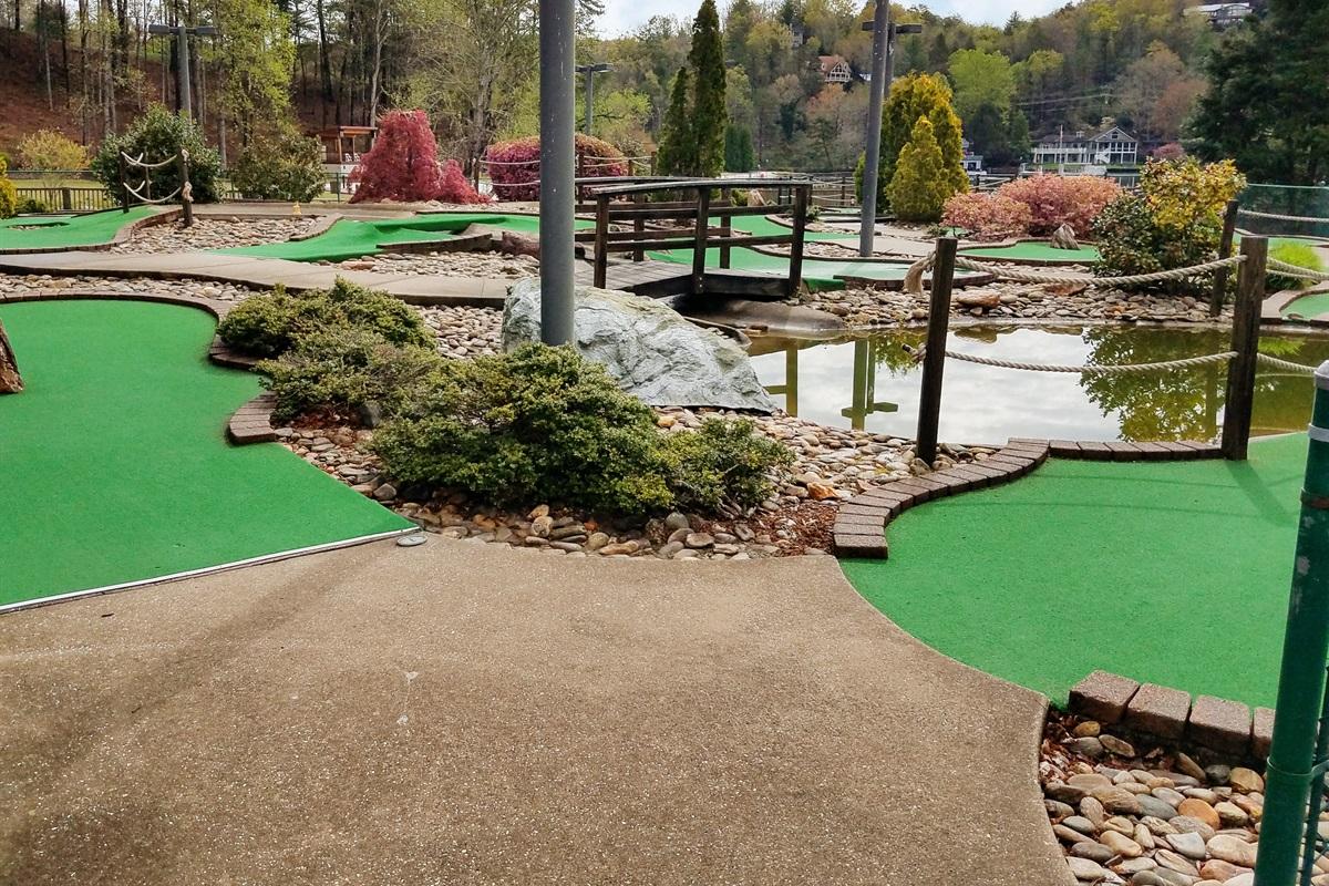 Putt Putt golf and other fun activities