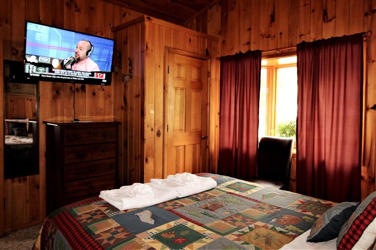 Bedroom #3, flat screen TV