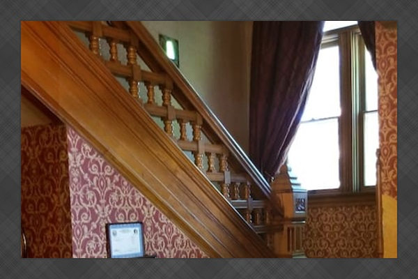 Common Area Stairs to 2nd Floor Suites