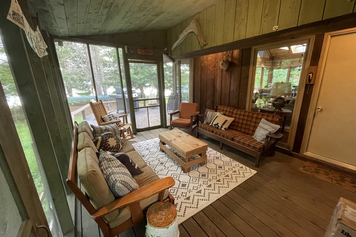 Screened-in Porch With Access To Great Room