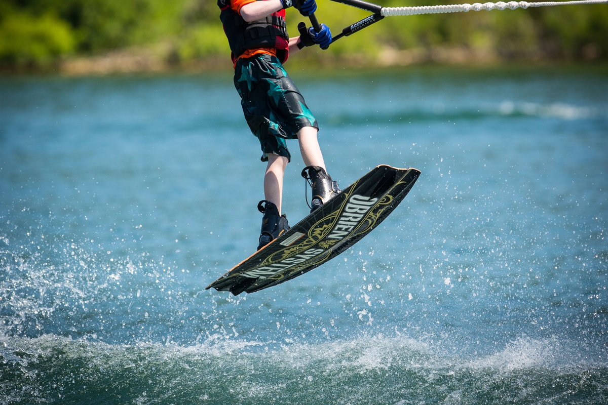 Warm water and wide open spaces make lake recreation a top draw! (BCBV)
