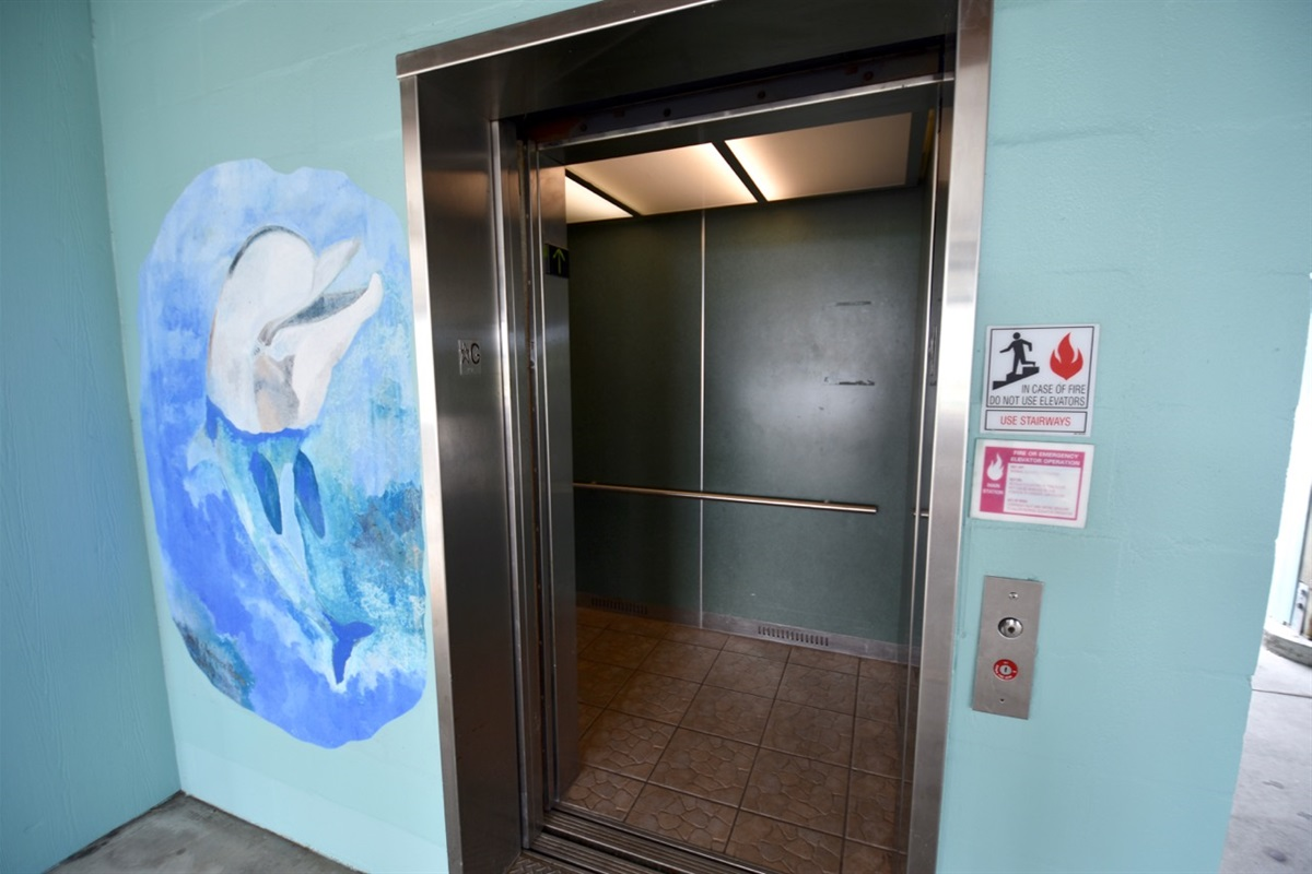 Fully enclosed commercial elevator