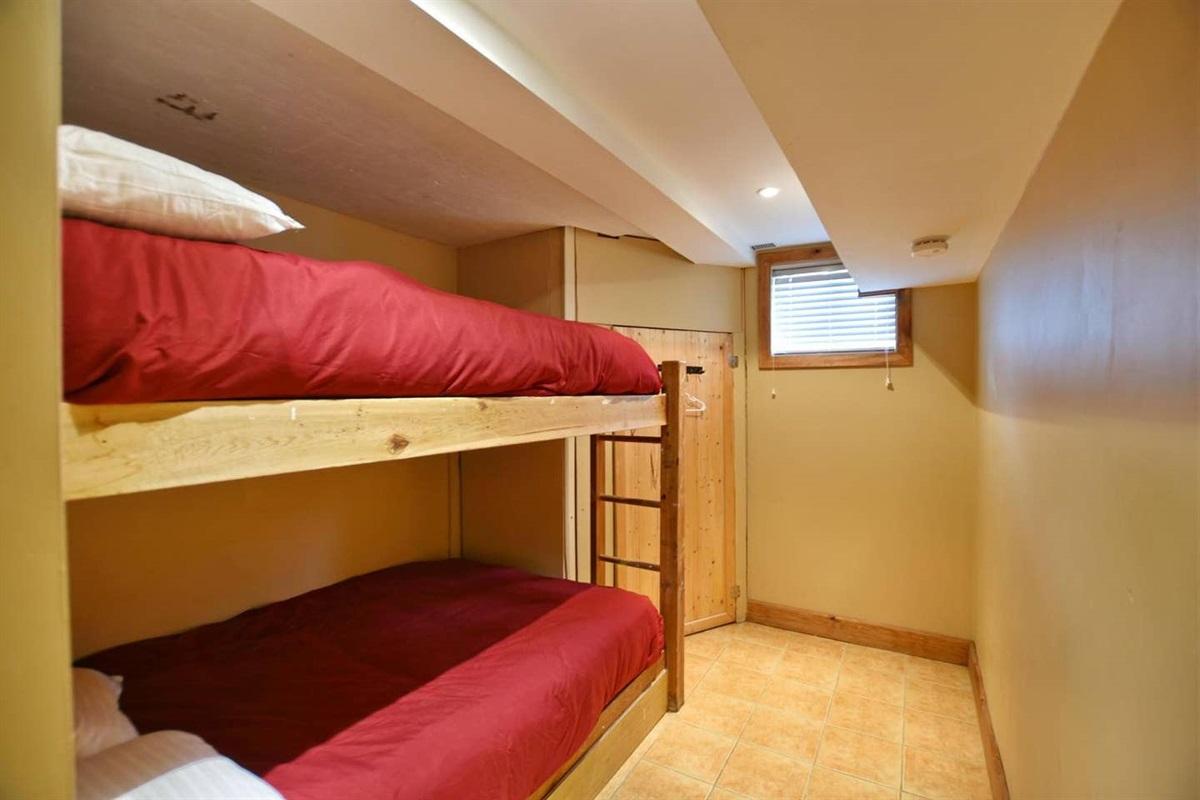 Bedroom #5 (lower level)