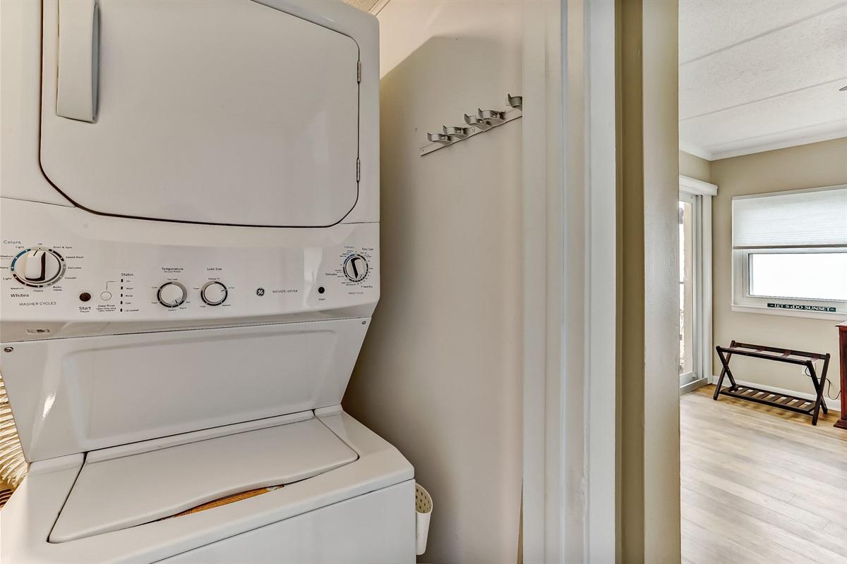 Washer Dryer in Master Bedroom Closet