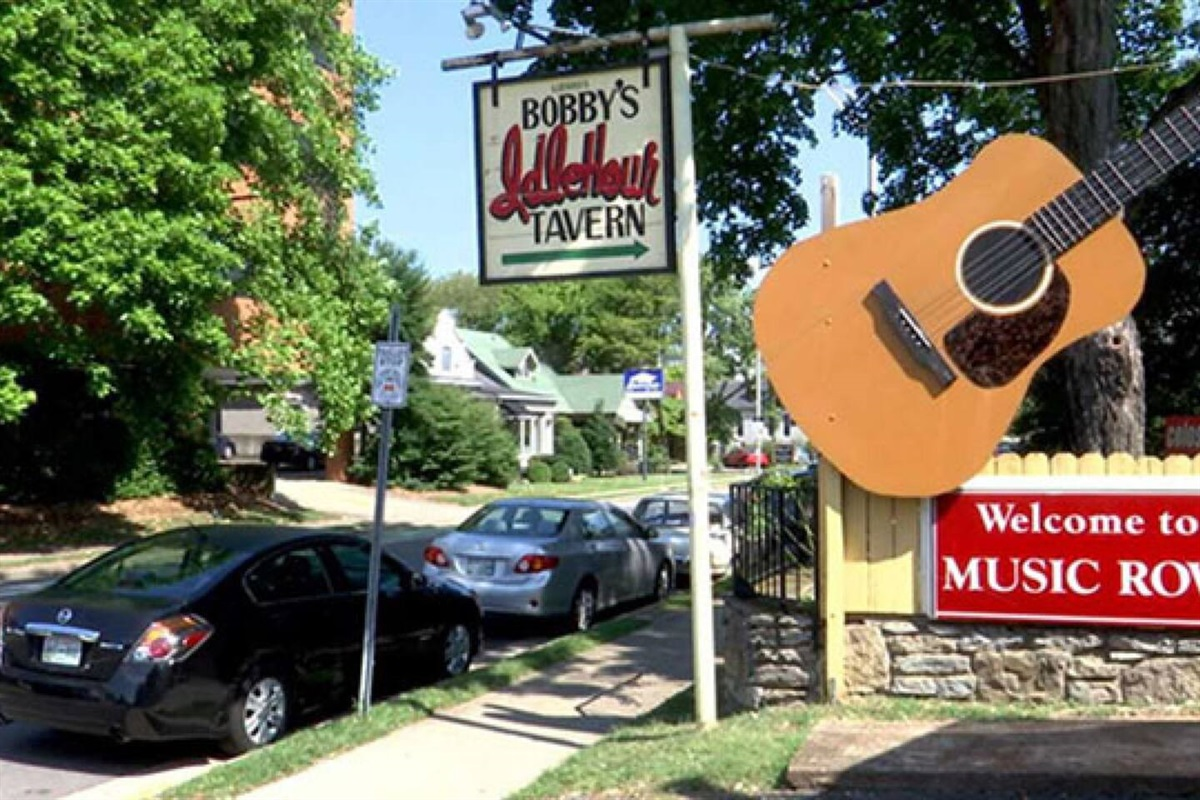 .6 mile walk to Nashville's Famous Music Row!