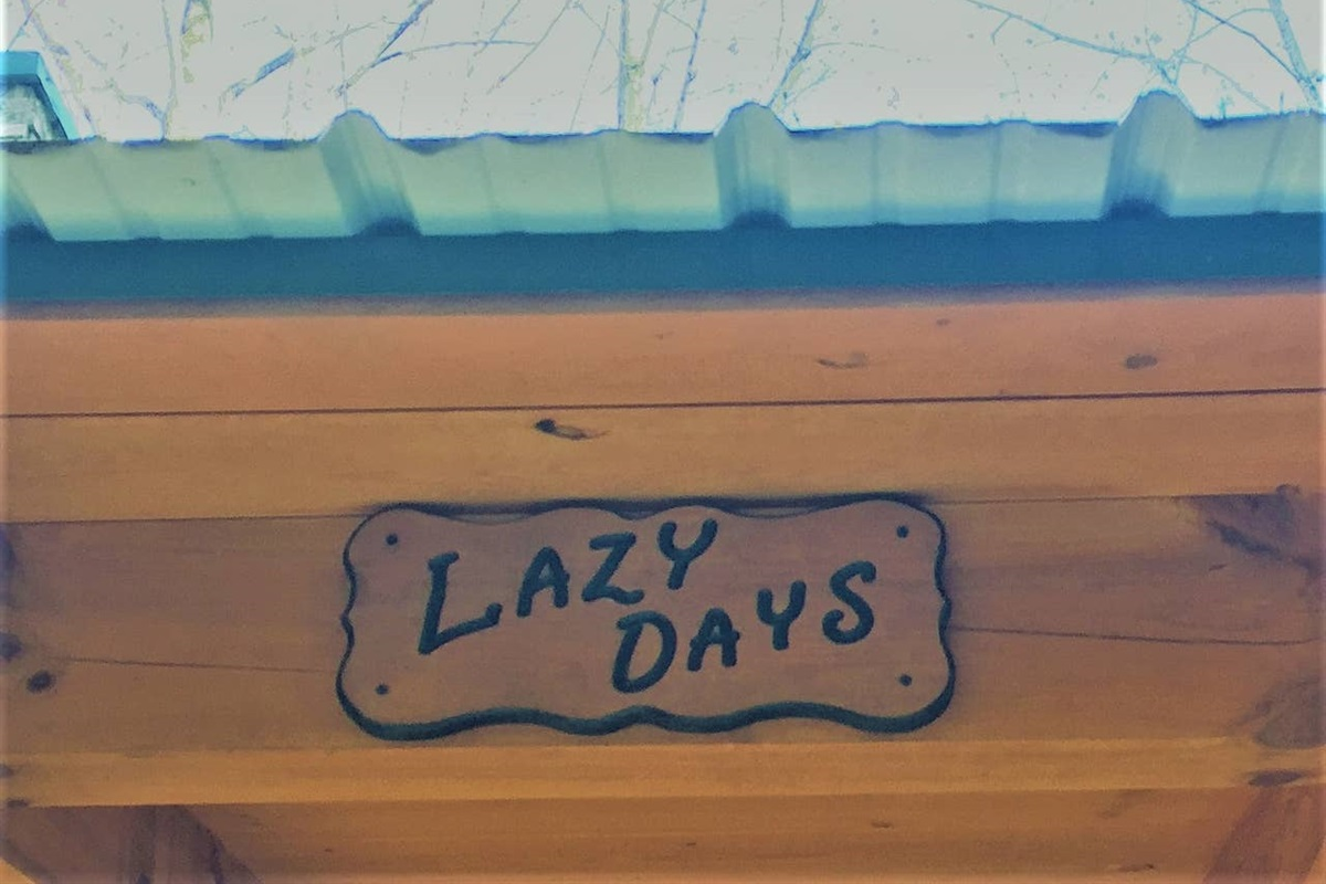 Please come and be lazy
