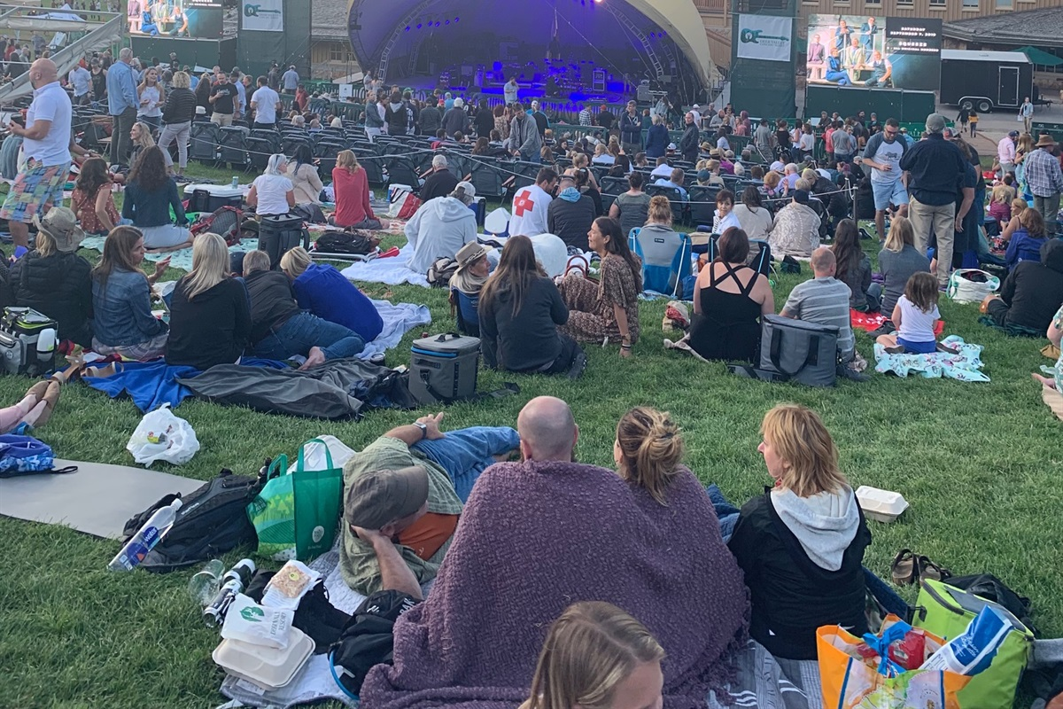 Summer Evening concert series - a Park City Favorite. Right on your doorstep.