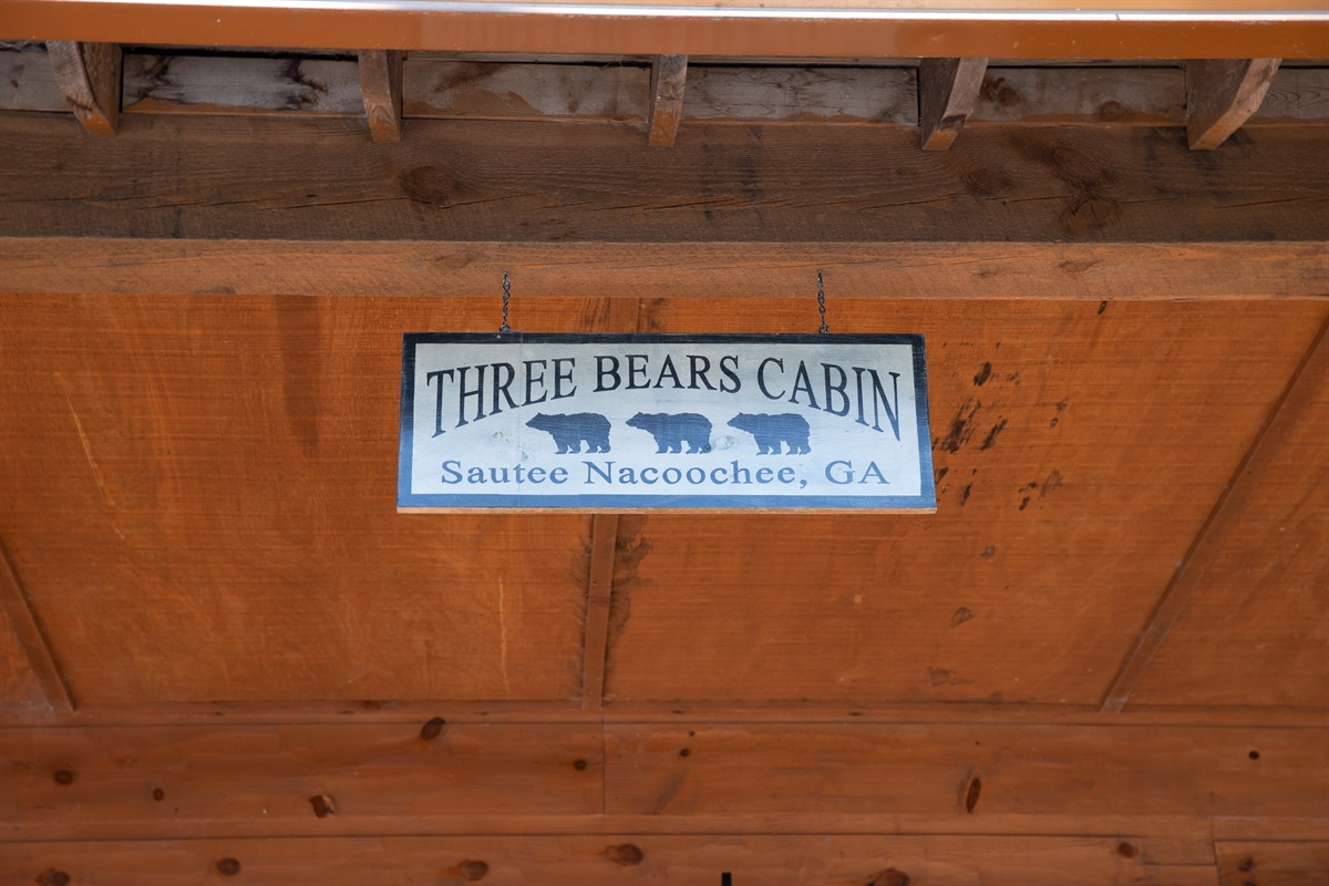 Secluded Three Bears Cabin