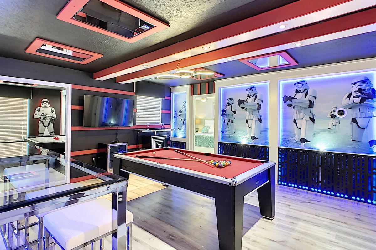 an Adult Game Room,