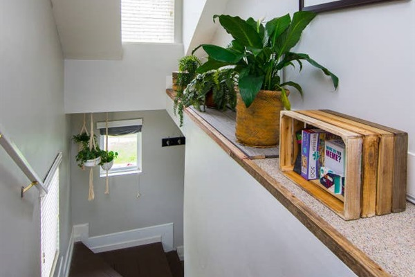 Decorated with beautiful live plants and games provided for your entertainment.