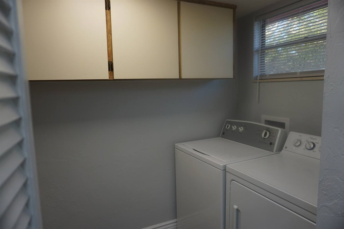 A place to do your laundry