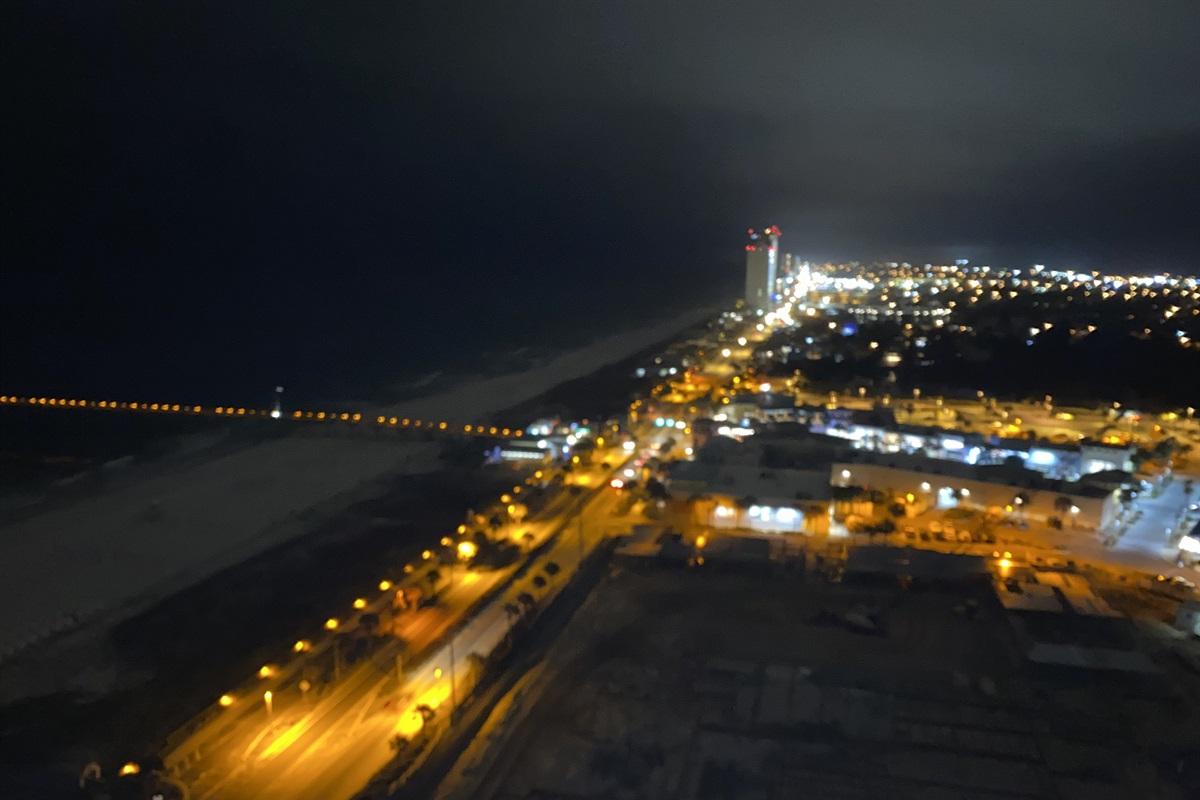 Beautiful night time views