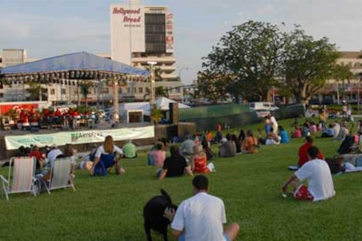 Picnic time at The Young Circle Park!