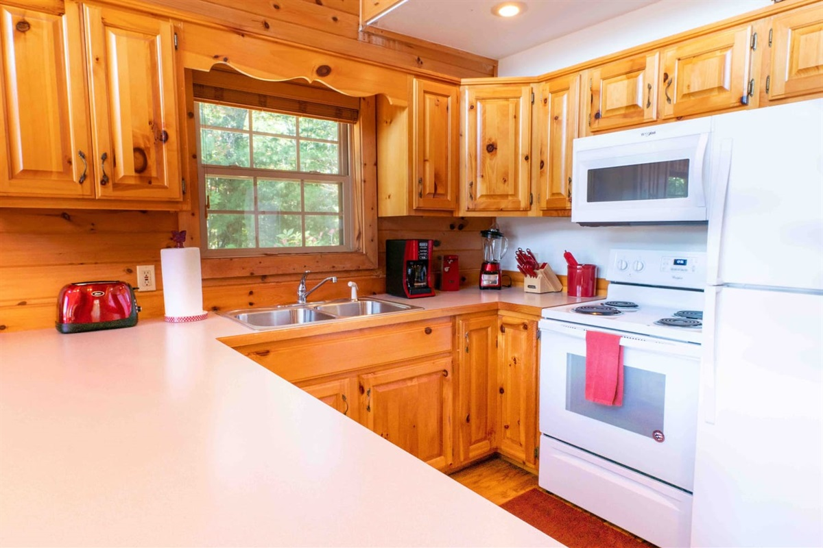 Cook family dinners in the comfort of your own cabin