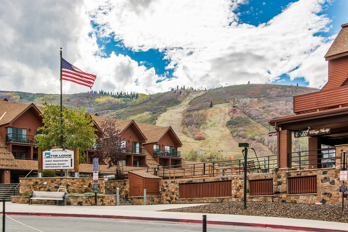 In the heart of Park City Mountain resort.