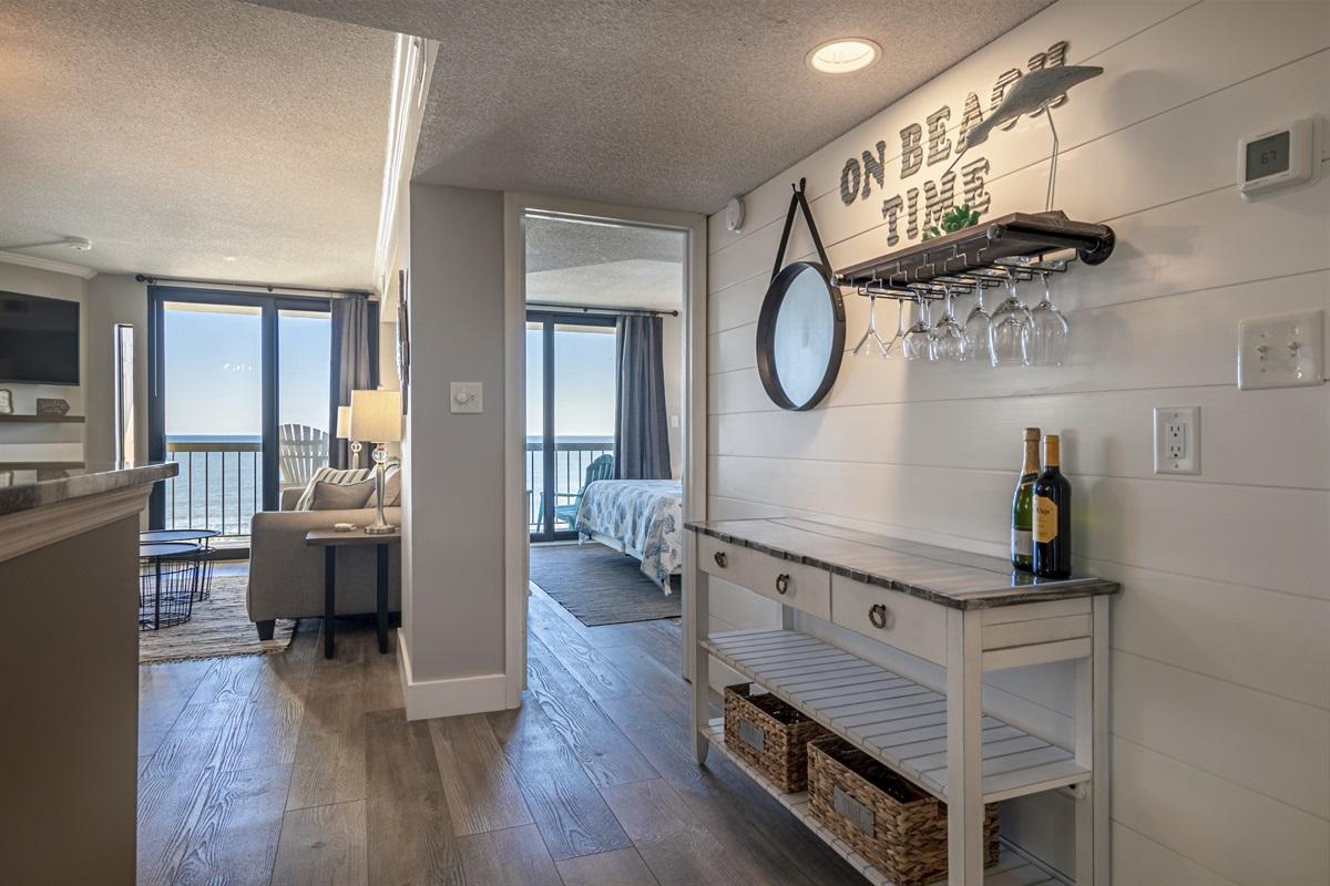 Balcony off living room & master bedroom