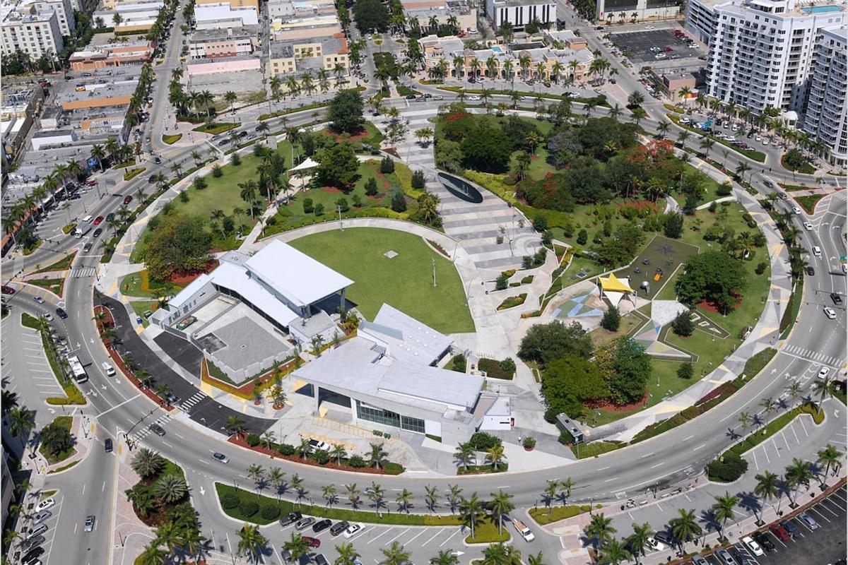 Ariel of Young Circle Arts Park