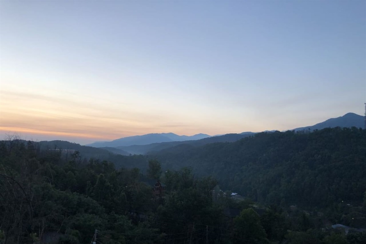 Enjoy your coffee from the deck and watch the sun rise
