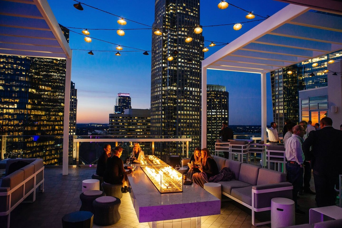 Uptown Charlotte:Downtown Charlotte. Great restaurants and clubs.Drive time: 25 minutes or take light rail (15 minutes away).