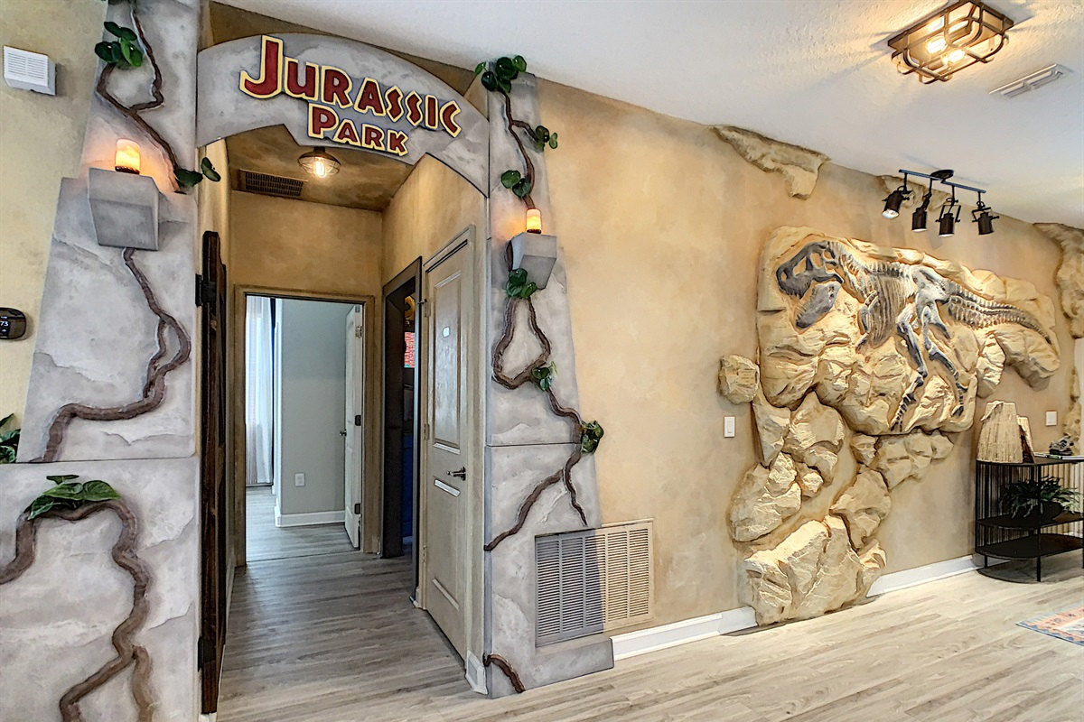 Entrance To Jurassic Park Theater