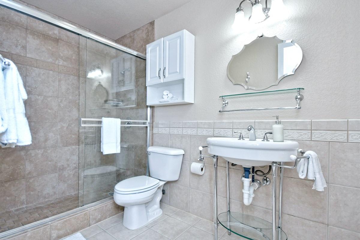 Oma Seidel Haus Downstairs Bathroom