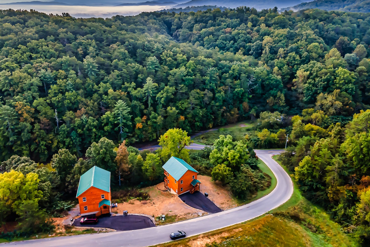 Drone View of the house