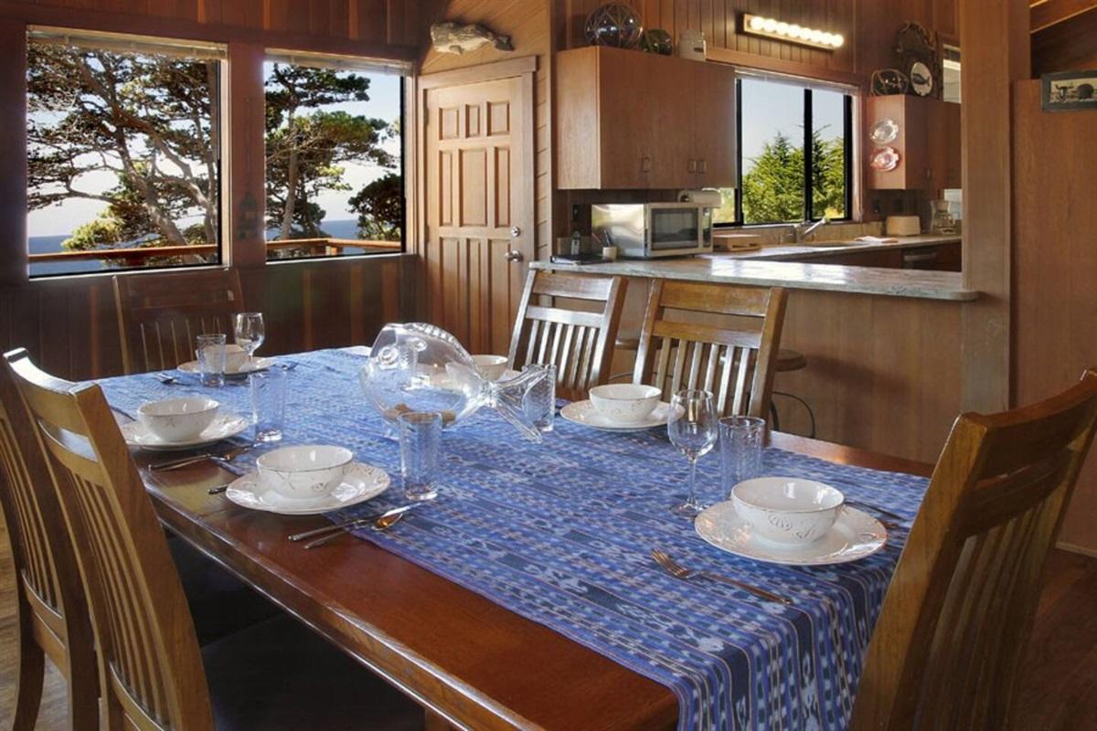 Ocean Bluff Serenity Dining Room