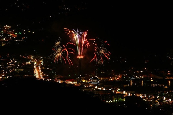 Gatlinburg has the first 4th of July parade in the USA & celebrates New Year with fireworks!