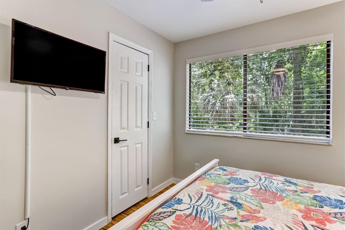 TV in Guest Bedroom