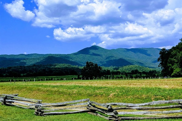 Cades Cove in Great Smoky Mountain National Park
