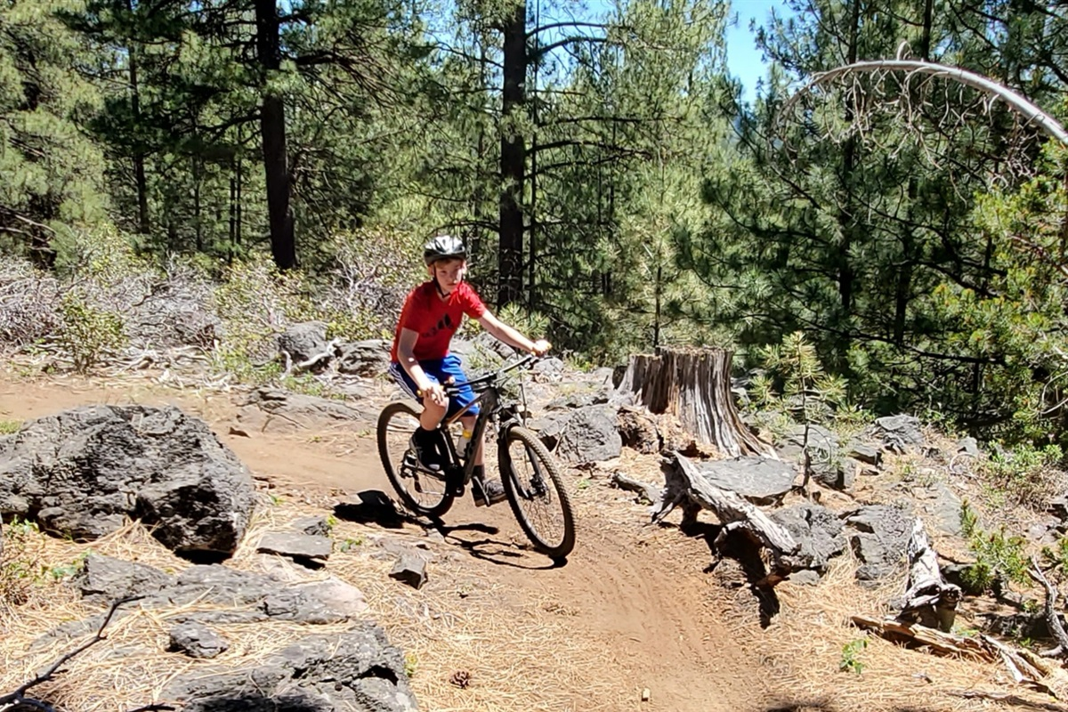Single Track Trails From The Lodge!
