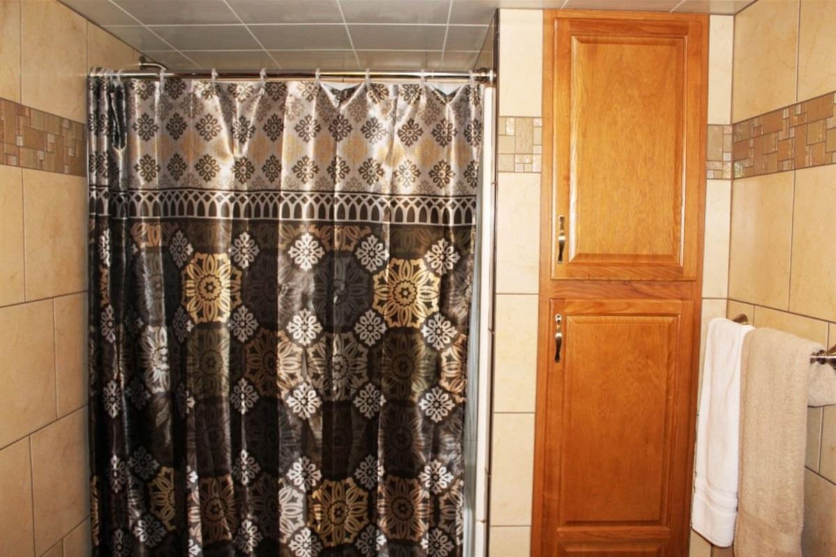 Shower in bathroom #2