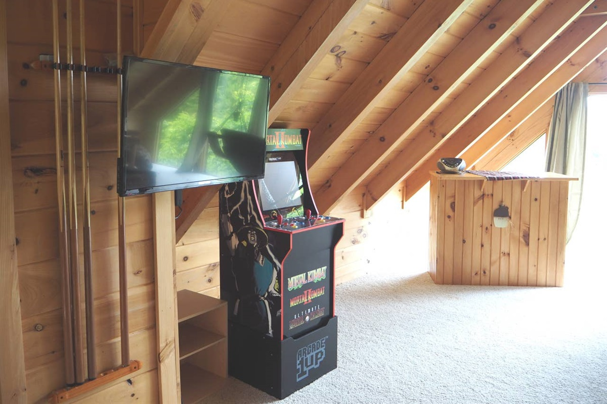 TV and arcade